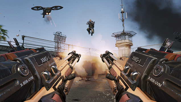 Call of Duty Advanced Warfare игровой процесс