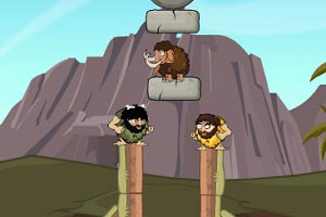 Флеш игра Rolly Stone Age Mammoth Rescue - pic